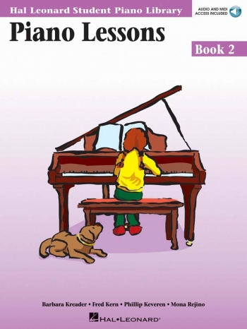 Hal Leonard Student Piano Library: Book 2: Piano Lessons: Book & Online Audio