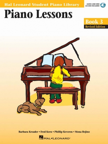 Hal Leonard: 3: Piano Lessons: Hal Leonard Student Piano Library Book & Audio Download