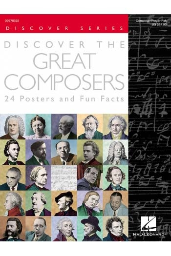 Discover The Great Composers: Poster Pack: A4