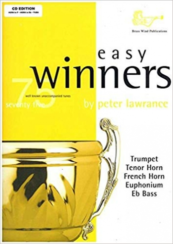 Easy Winners: French Or Tenor Horn Treble Clef: Book & Cd  (lawrance)