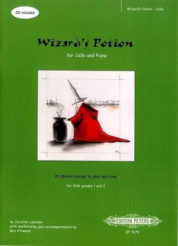 Wizards Potion: Cello Book & Cd (Peters)
