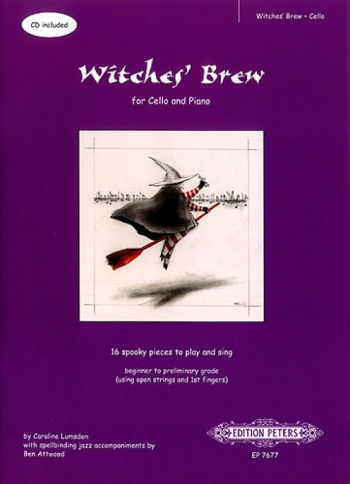 Witches Brew: 16 Spooky Pieces: Cello Piano Accomp (Peters)