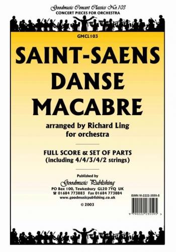Orch/saint Saens/danse Macabre/orchestra/scandpts (ling)