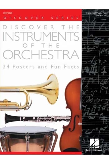 Discover The Instruments Of The Orchestra: Poster Pack: A4