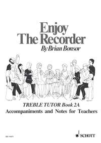 Enjoy The Recorder: Book 2a: Treble Recorder