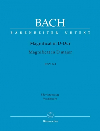 Magnificat In D Major: Bwv243: Vocal Score  (Barenreiter)