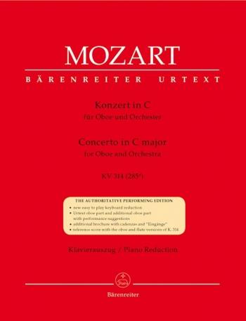 Concerto C Major K314: Oboe & Piano (Barenreiter)