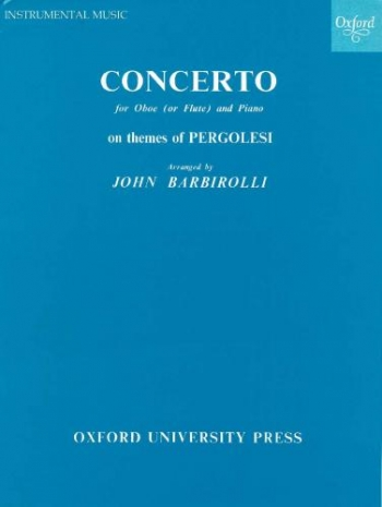 Concerto On Themes Oboe: Oboe & Piano (OUP)