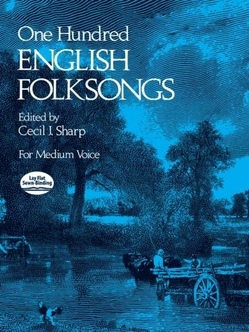 100 English Folk Songs: Medium Voice (sharp)