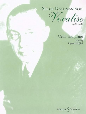 Rachmaninoff: Vocalise: Op34/14: Cello & Piano (Boosey & Hawkes)