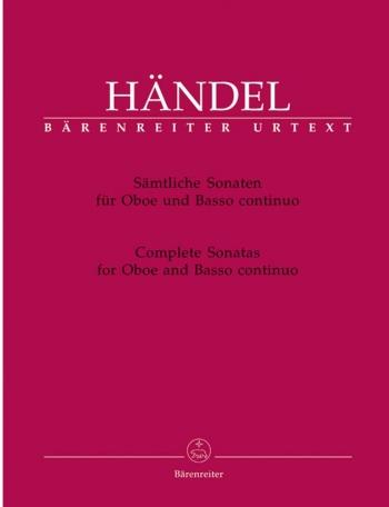 Complete Sonatas Oboe & Piano (Barenreiter)
