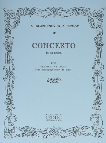 Concerto: Alto Saxophone