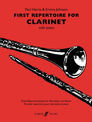 First Repertoire: Clarinet & Piano (harris)