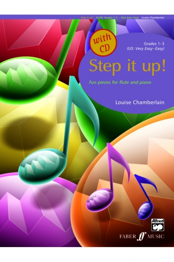 Step It Up: 1-3: Flute: Book & CD