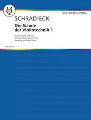 School Of Violin Technique: Vol 1: Violin