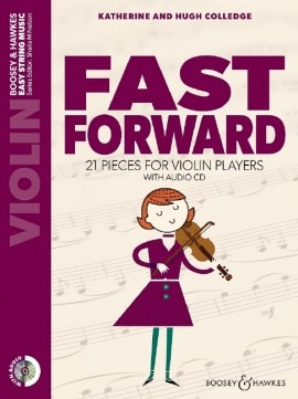 Fast Forward: Violin: Part Only & Backing CD (colledge)