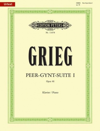 Peer Gynt Suite: Vol.1: Op.46: Piano (Peters)