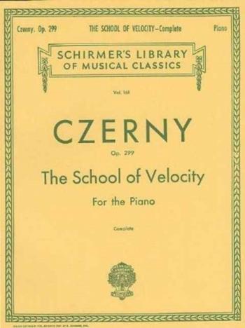 School Of Velocity: Op.299 Piano (Peters)