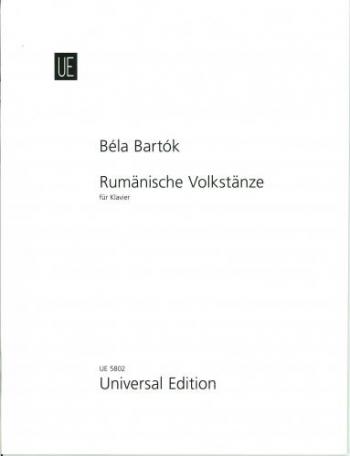Rumanian Folk Dances: Piano (Universal)