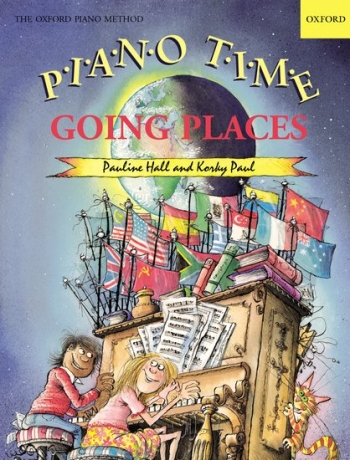Piano Time Going Places  (Pauline Hall) (Oxford University Press)