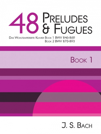 48 Preludes and Fugues Book 1: Piano (Mayhew)