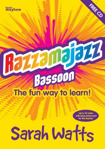 Razzamajazz Bassoon: Book & CD (Sarah Watts) (Mayhew)