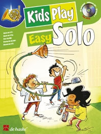 Kids Play Easy Solo: French Or Tenor Horn: Book & CD