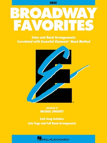 Essential Elements Broadway Favorites (Oboe)