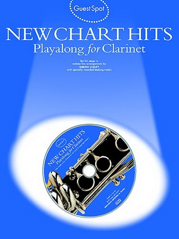 Guest Spot: New Chart Hits: Clarinet: Book & CD