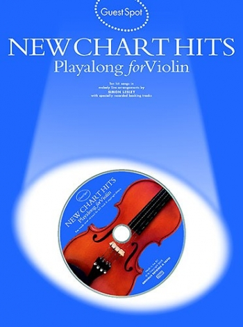 Guest Spot: New Chart Hits: Violin: Book & CD