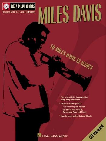 Jazz Play Along Vol.2: Miles Davis: Bb, Eb, or C Instruments: Book & CD