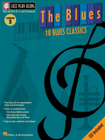 Jazz Play Along Vol.3: Blues: Bb or Eb or C Instruments: Book & CD