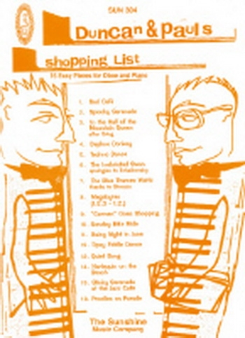Duncan And Pauls Shopping List:  Oboe & Piano
