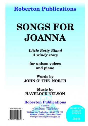 Songs For Joanna Little Betty Bland: Vocal