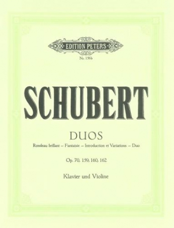 Duos: Op70/159/160/162: Complete: Violin and Piano (Peters)