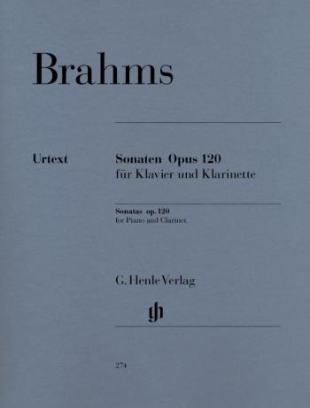 Clarinet Sonatas Op.120 1 & 2: Clarinet & Piano (Henle)