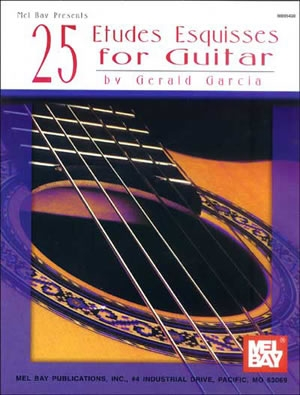 25 Etudes Esquisses: Guitar