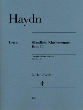 Sonatas: Vol.3: Piano  (Henle Ed)
