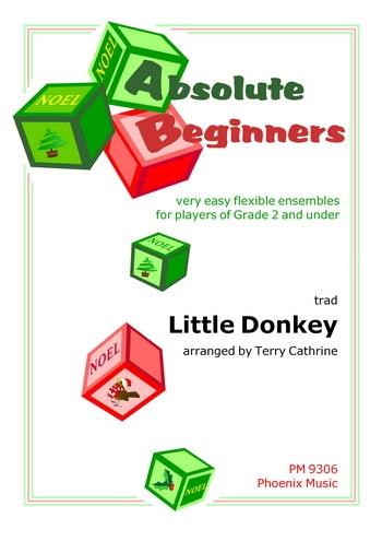 Absolute Beginners: Little Donkey: 4 Part Flex Ensemble