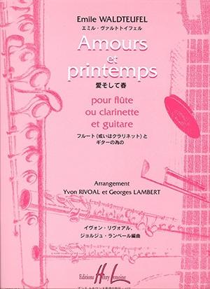 Amours Et Printemps: Flute & Guitar
