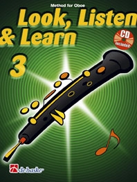 Look Listen & Learn 3 Oboe: Book & Cd (Sparke)
