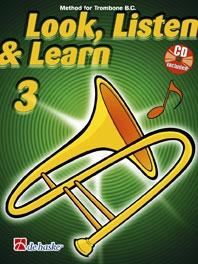Look Listen & Learn 3 Trombone Bass Clef: Book & Cd  (sparke)