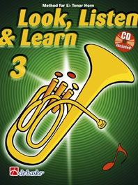 Look Listen & Learn 3 Tenor Horn/Eb Horn Book & Cd  (sparke)