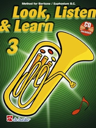 Look Listen & Learn 3 Euphonium Bass Clef: Book & Cd (sparke)
