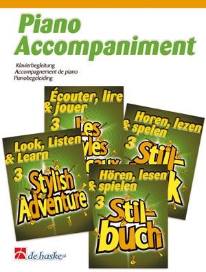 Look Listen & Learn 3 Stylish Adventure Clarinet Piano Accompaniment (Sparke)