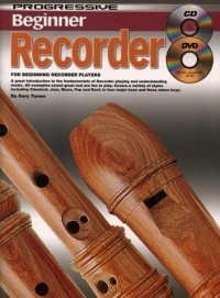 Progressive Beginner Recorder: Book Cd & Dvd (Gelling)