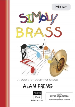 Simply Brass: Treble Clef: A Beginner Brass: Bb Or Eb Instruments Book & Download (pring)