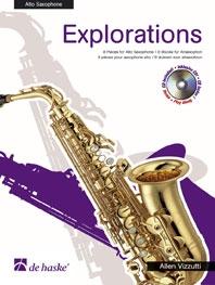 Explorations: Alto Saxophone  Book & CD (vizzutti)