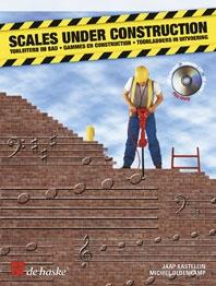 Scales Under Construction: Alto Sax: Book & Cd (kastelein & Oldenkamp)
