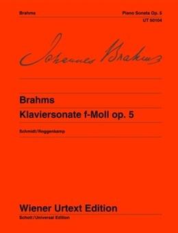 Sonata F Minor Op.5: Piano (Wiener Urtext)